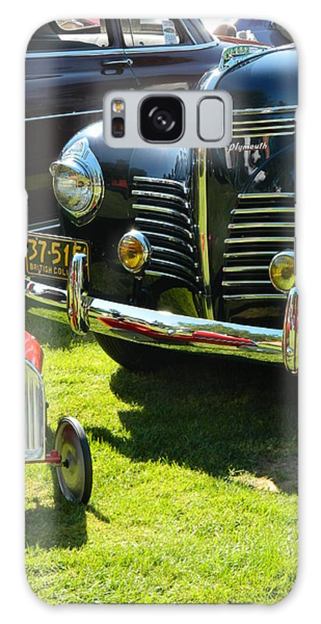 Car Galaxy S8 Case featuring the photograph Plymouth And Baghera by Nicki Bennett