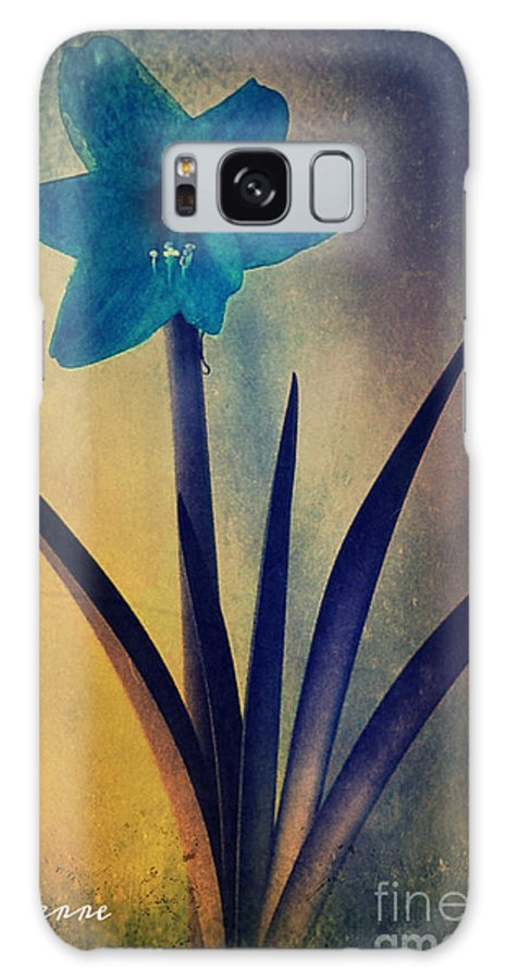 Blue Galaxy S8 Case featuring the photograph Poetic by Pyerre Plouffe