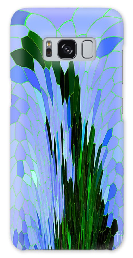 Abstract Galaxy S8 Case featuring the digital art Point Of View by Mariarosa Rockefeller