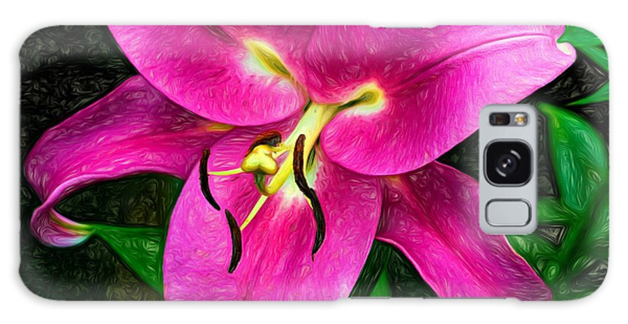 Flowers Galaxy S8 Case featuring the photograph Poise 2 by Steve Harrington
