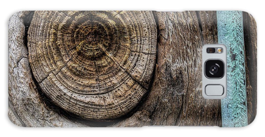 Wood Galaxy S8 Case featuring the photograph Pole 95 The Knot by David Stone