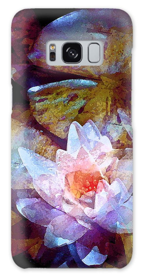 Floral Galaxy S8 Case featuring the photograph Pond Lily 26 by Pamela Cooper
