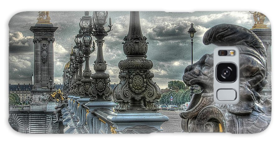 Paris Surreal Galaxy S8 Case featuring the photograph Pont Alexandre IIi by Michael Kirk
