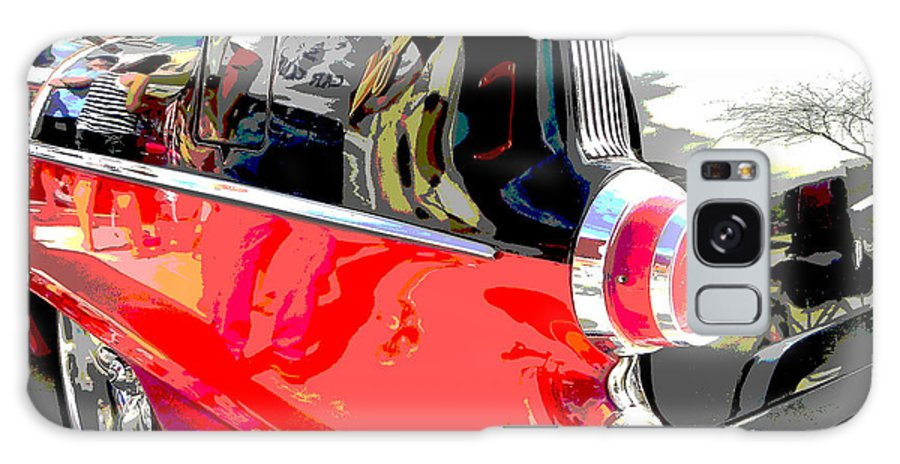 Pontiac Galaxy S8 Case featuring the photograph Pontiac Reflections by Chuck Re