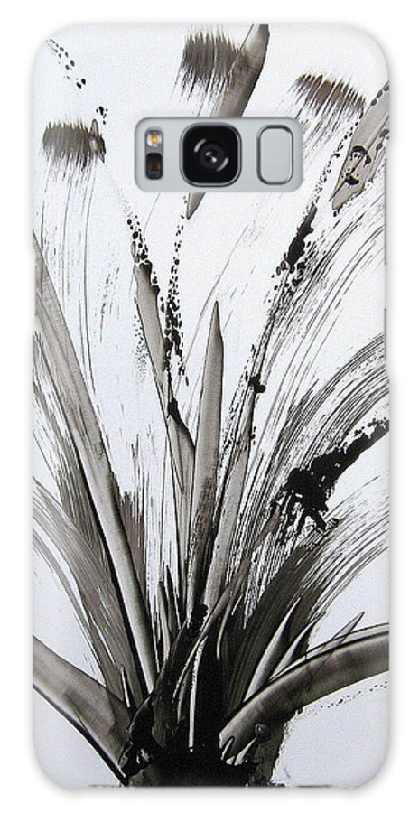Popcorn For Breakfast Galaxy S8 Case featuring the painting Popcorn For Breakfast by Sharon Jones