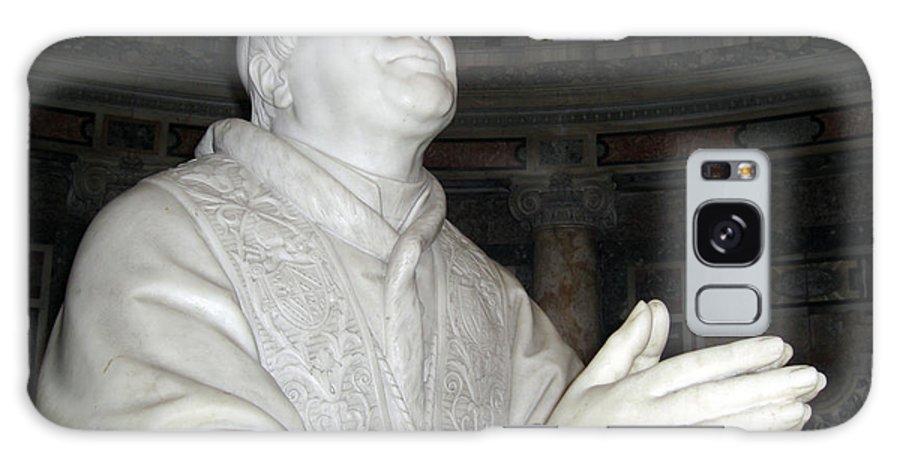 Rome Galaxy S8 Case featuring the photograph Pope Pius Ix Santa Maria Maggiore by Deborah Smolinske