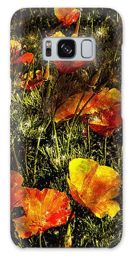Poppies Galaxy S8 Case featuring the painting Poppies Will Make Them Sleep by RC DeWinter