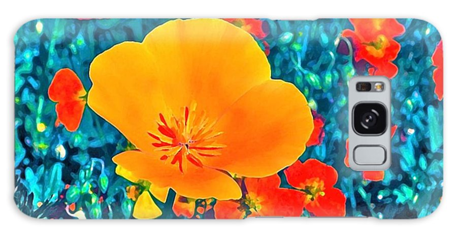 Flowers Galaxy S8 Case featuring the photograph Poppy 7 by Pamela Cooper