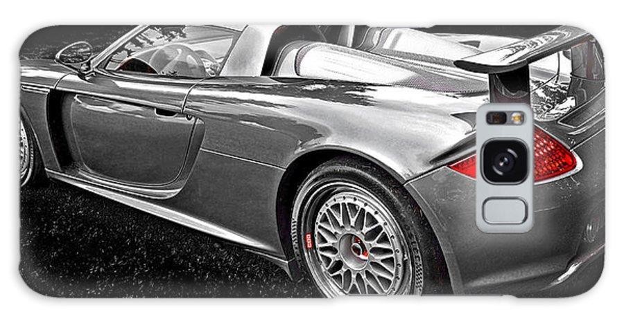 Porsche Galaxy S8 Case featuring the photograph Porsche Carrera Gt by David Oberman