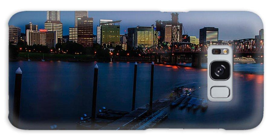 Portland Galaxy S8 Case featuring the photograph Portland Skyline 2 by David McAlpine