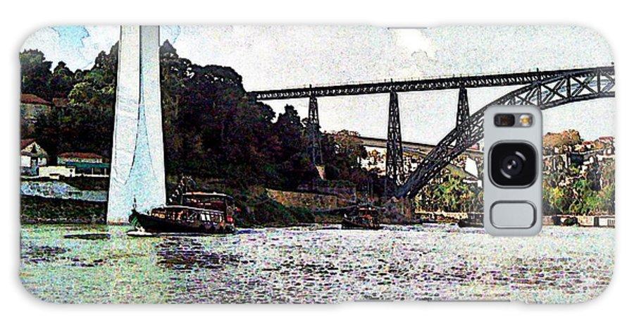 Porto Galaxy S8 Case featuring the photograph Porto-185 by Rezzan Erguvan-Onal