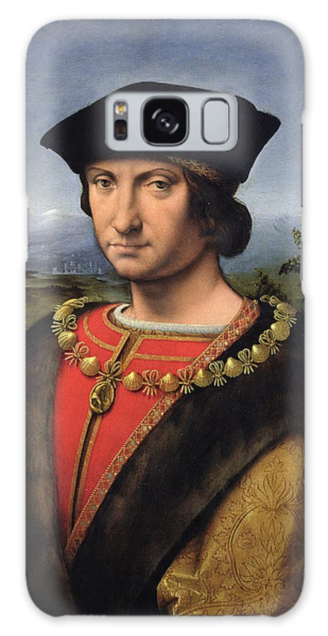 Grb Galaxy S8 Case featuring the photograph Portrait Of Charles Damboise 1471-1511 Marshal Of France Oil On Panel by Antonio da Solario