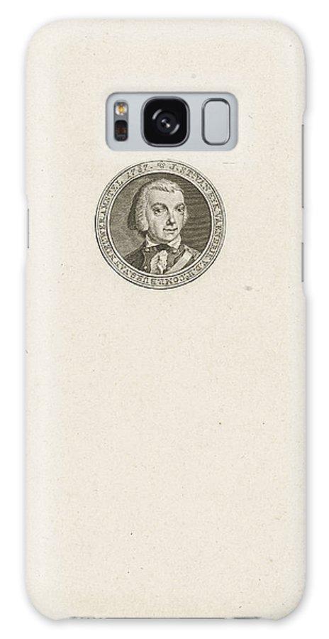 1787 Galaxy S8 Case featuring the drawing Portrait Of Jan Stockelaar Van Eyk by Quint Lox