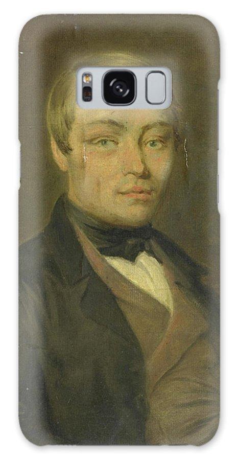 Portrait Galaxy S8 Case featuring the drawing Portrait Of Rudolf Johannes Van Den Brink by Litz Collection