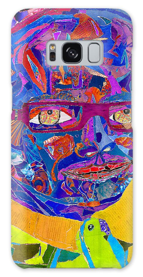Portraiture Of Passion Galaxy S8 Case featuring the photograph Portraiture Of Passion V2 by Kenneth James