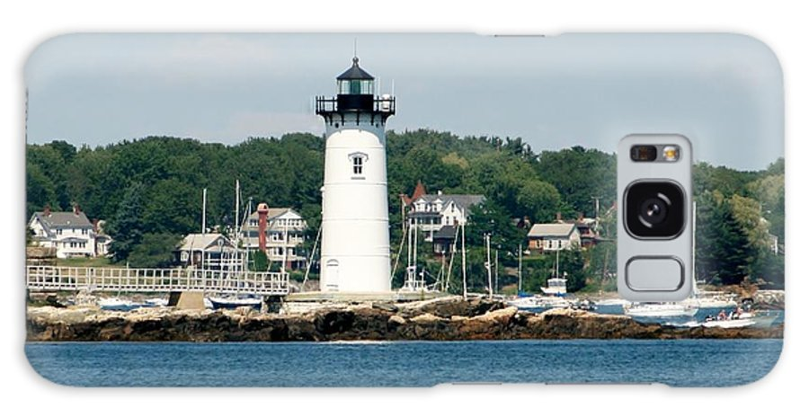 Gift Galaxy S8 Case featuring the photograph Portsmouth Nh Harbor by Barbara S Nickerson