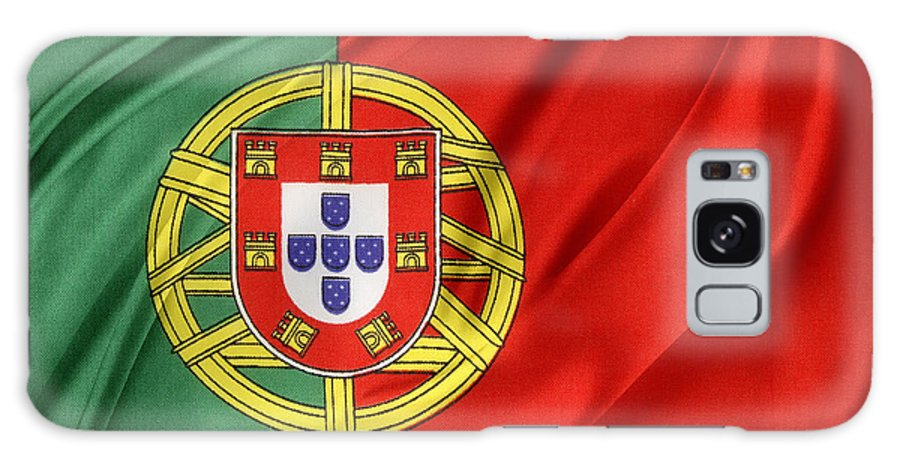 Portugal Flag Galaxy S8 Case featuring the photograph Portuguese Flag by Les Cunliffe