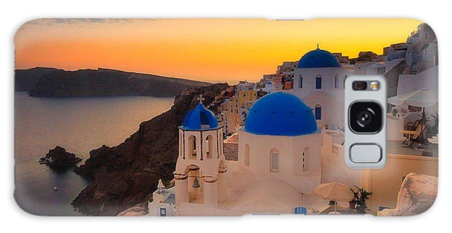 Greece Galaxy S8 Case featuring the photograph Poseidon Sleeps by Jim Southwell