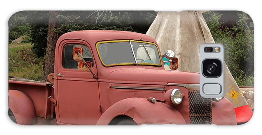Truck Galaxy S8 Case featuring the photograph Postcard From Yesterday by Lynn Sprowl