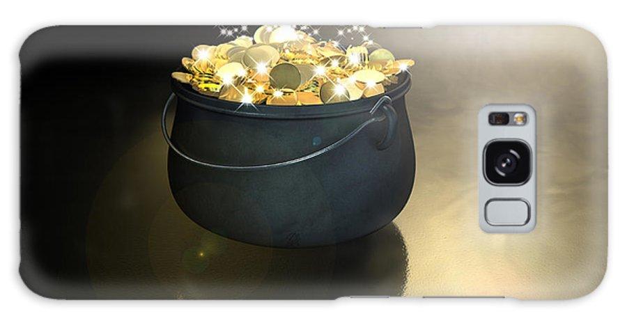 Pot Of Gold Galaxy S8 Case featuring the digital art Pot Of Gold by Allan Swart