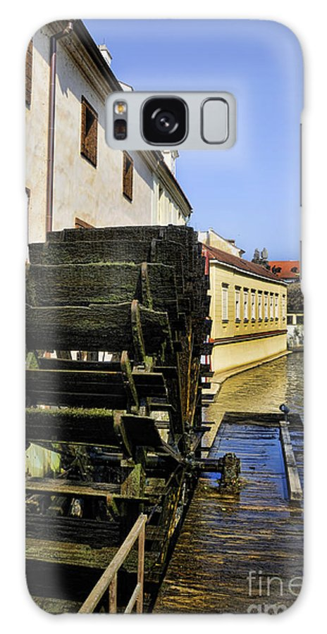 Water Mill.waterwheel Galaxy S8 Case featuring the photograph Powered By Water by Brenda Kean