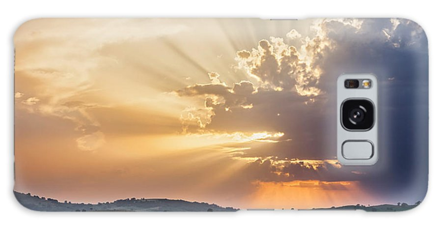 Bulgaria Galaxy S8 Case featuring the photograph Powerful Sunbeams by Evgeni Dinev