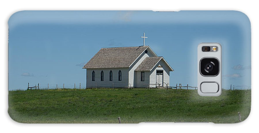 Old Galaxy S8 Case featuring the photograph Prairie Church by Scott Sanders