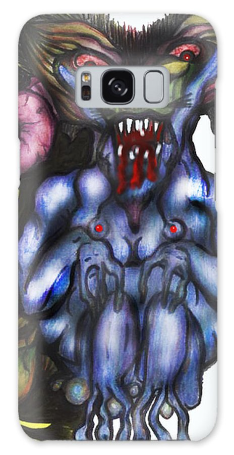 Envy Galaxy S8 Case featuring the mixed media Pride by Tiffany Selig