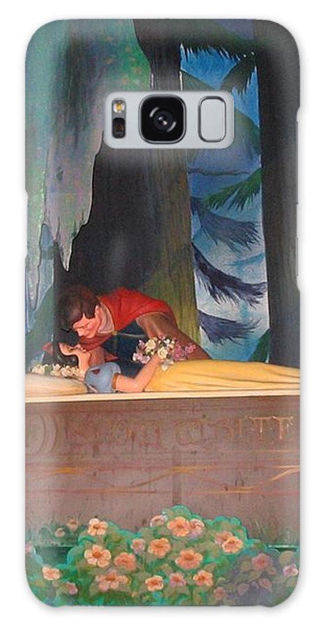 Prince Kisses A Snow White Galaxy S8 Case featuring the photograph Prince Kisses Snow White by Zina Stromberg