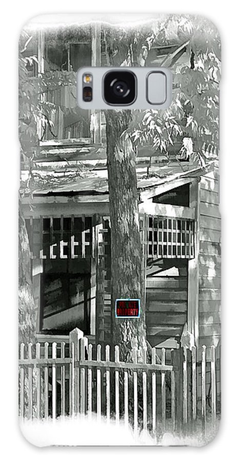 Chinese Camp Galaxy S8 Case featuring the digital art Private Property by Ken Evans