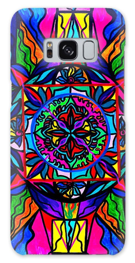 Vibration Galaxy S8 Case featuring the painting Productivity by Teal Eye Print Store