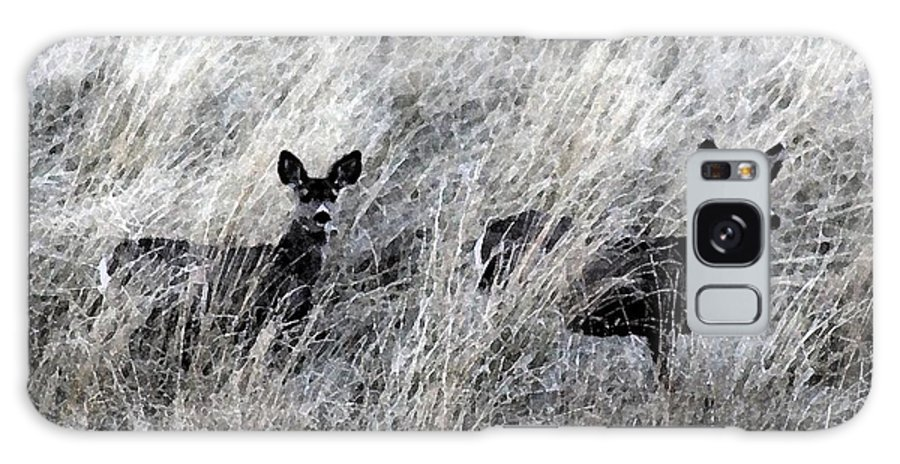 Deer Galaxy S8 Case featuring the photograph Protected Babies 1 by Brenda Henley