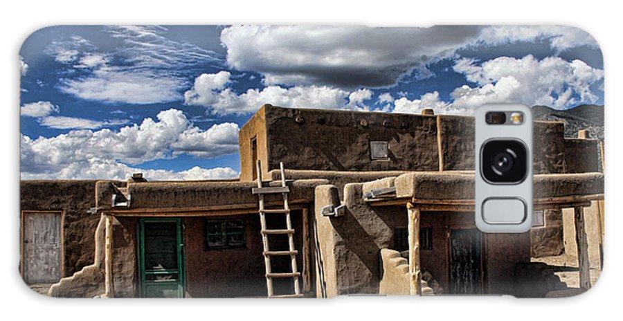 Santa Fe Galaxy S8 Case featuring the photograph Pueblo 1 by Chuck Seller