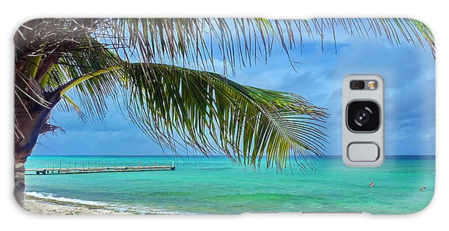 Sky Galaxy S8 Case featuring the photograph Punta Cana Getaway by Tony Ambrosio