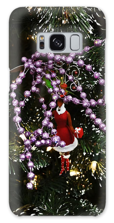 Nature Galaxy S8 Case featuring the photograph Purple Christmas by Elvis Vaughn
