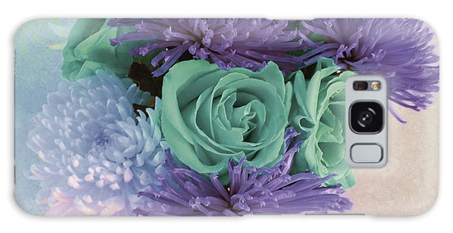 Photograph Galaxy S8 Case featuring the photograph Purple Flowers by Marian Bell