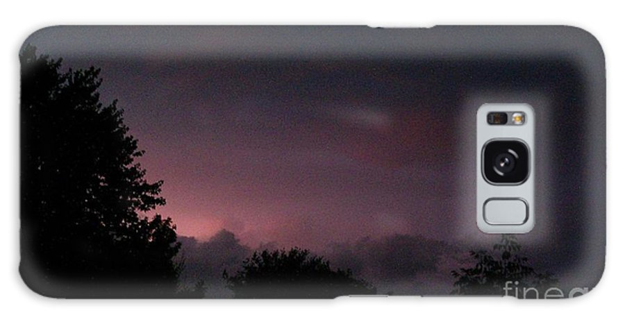 Landscape Galaxy S8 Case featuring the photograph Purple Haze After Storm by Gail Matthews
