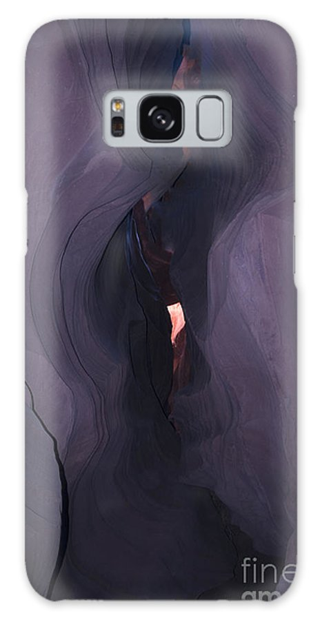 Antelope Canyon Galaxy S8 Case featuring the photograph Purple Haze In Antelope Canyon by Brenda Kean