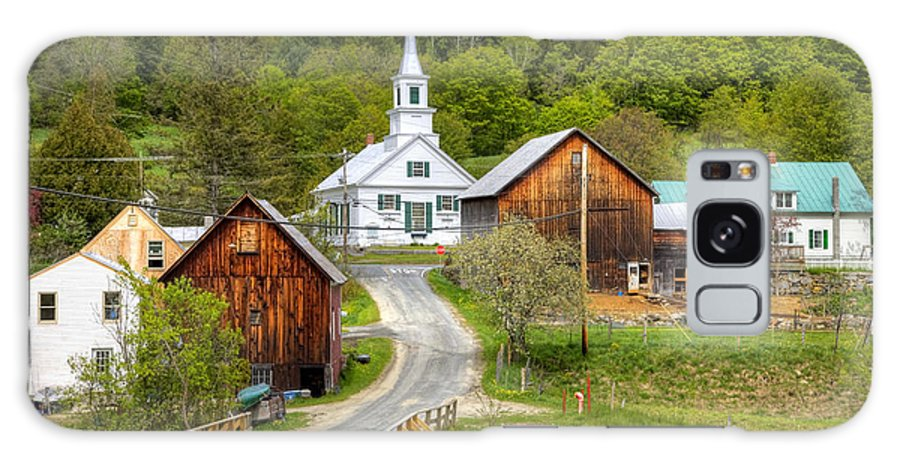 Vermont Galaxy S8 Case featuring the photograph Quaint Vermont Village by Denis Tangney Jr