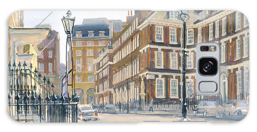 Urban Galaxy S8 Case featuring the photograph Queen Annes Gate Oil On Canvas by Julian Barrow