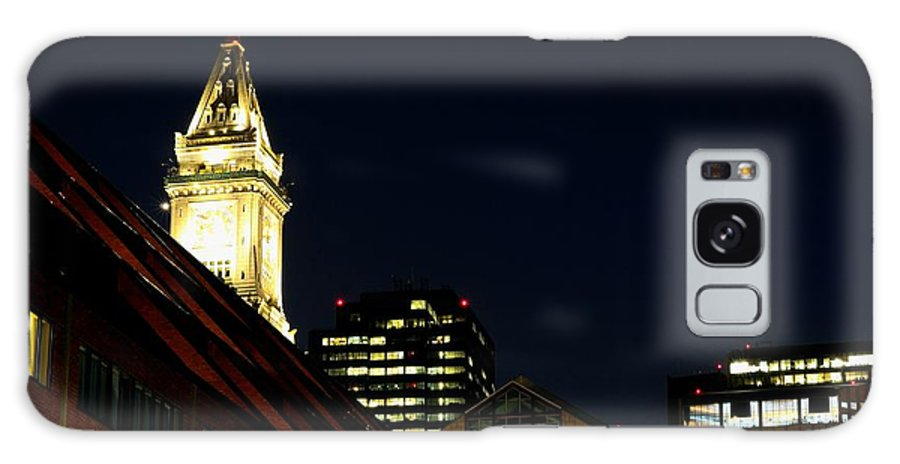 Galaxy S8 Case featuring the photograph Quincy Market by Mithun Das