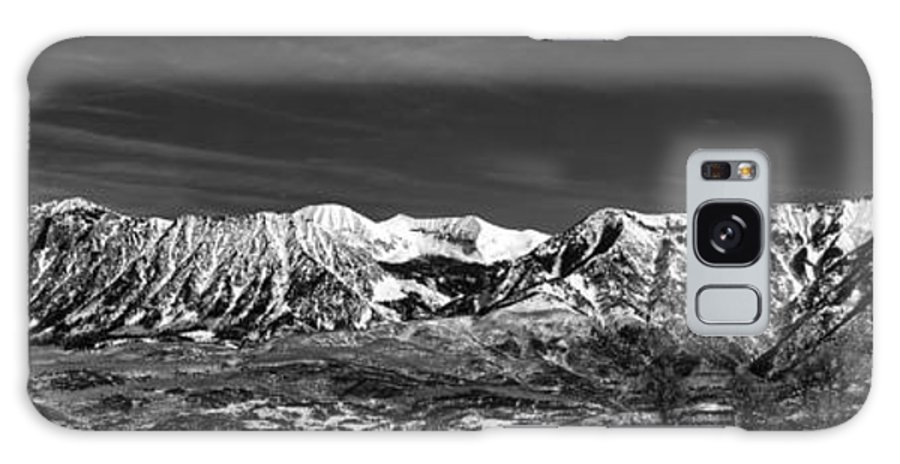 Galaxy S8 Case featuring the photograph Ragged Mountain Colorado by Eric Rundle