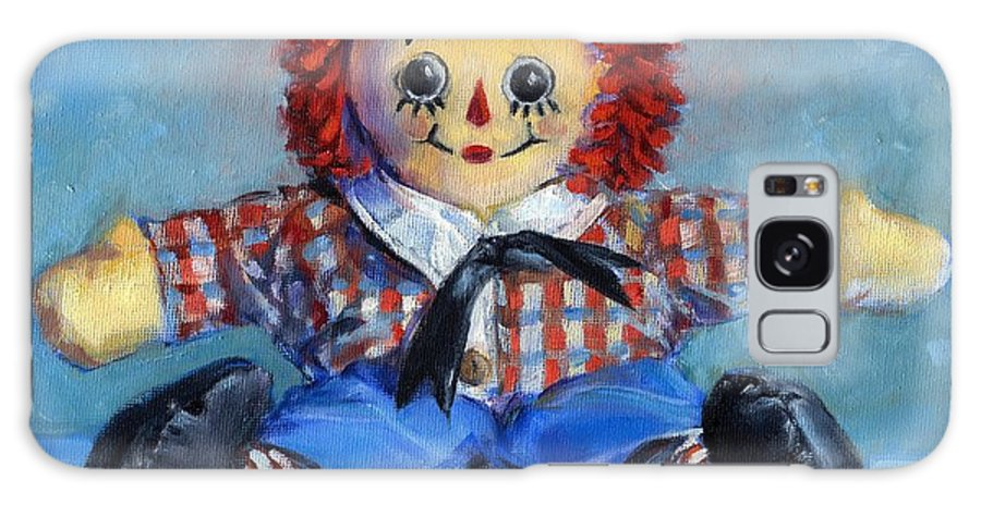 Rag Doll Galaxy S8 Case featuring the painting Raggedy Andy by Joose Hadley