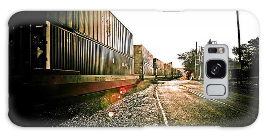 Railway Galaxy S8 Case featuring the photograph Railway by Sennie Pierson