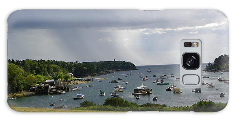 Glen's Lobster Galaxy S8 Case featuring the photograph Rain Mackerel Cove by Donnie Freeman