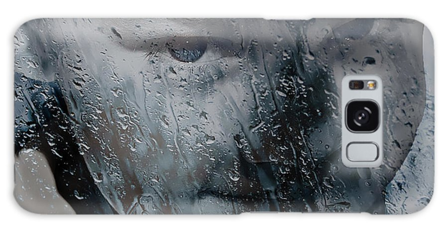 Child Galaxy S8 Case featuring the photograph Rain Rain Go Away by Ericamaxine Price