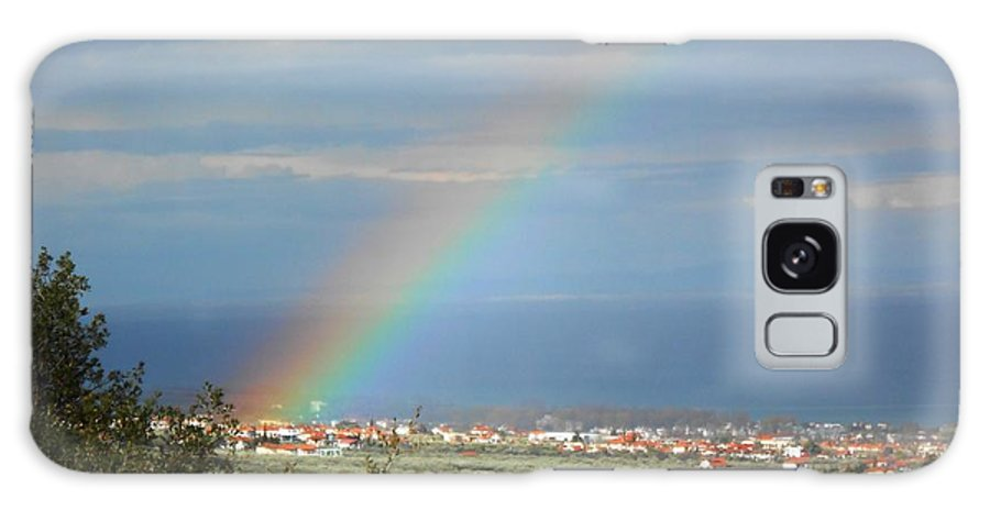Rainbow Galaxy S8 Case featuring the photograph Rainbow by Andonis Katanos