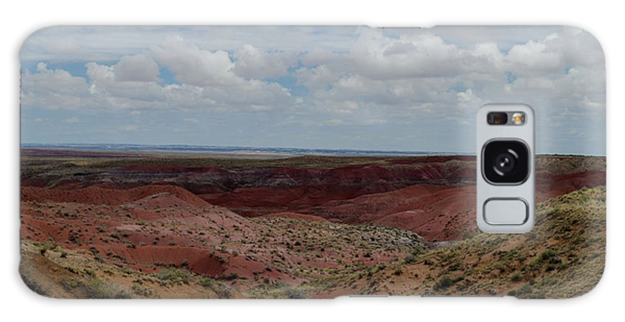 Landscape Galaxy S8 Case featuring the photograph Rainbow Desert by Jonathan Smith