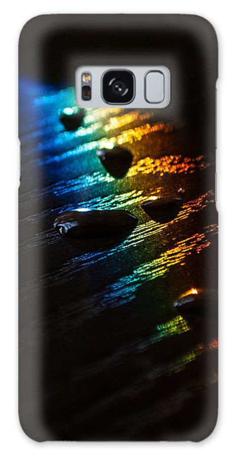 Rainbow Galaxy S8 Case featuring the photograph Rainbow Drops by Photos By Cassandra