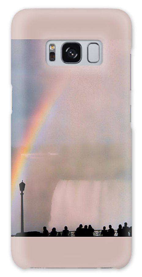 Rainbow Galaxy S8 Case featuring the photograph Rainbow Falls by Pharris Art